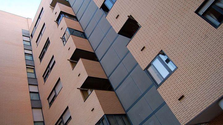 Un bloque de viviendas, en Madrid