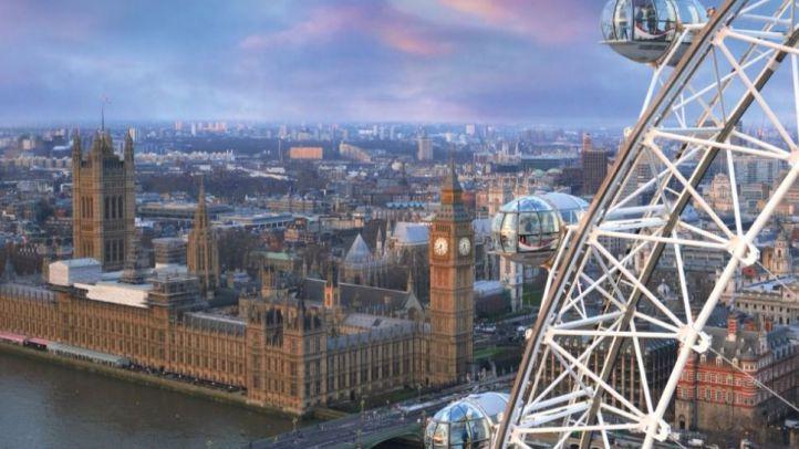 Un centenar de escolares de Las Rozas, atrapados en la noria de Londres durante el atentado terrorista