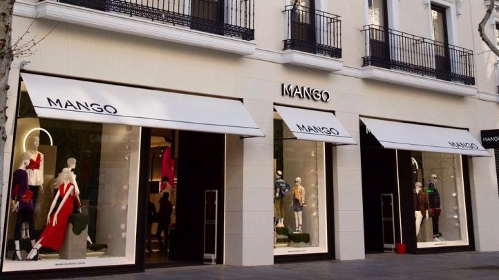 Edificio de Mango, en el númeor 60 de la calle Serrano.