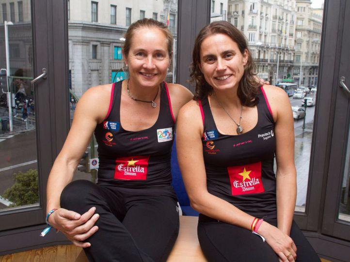 Carolina Navarro y Cecilia Reiter, pareja número 4 del ranking mundial de pádel femenino
