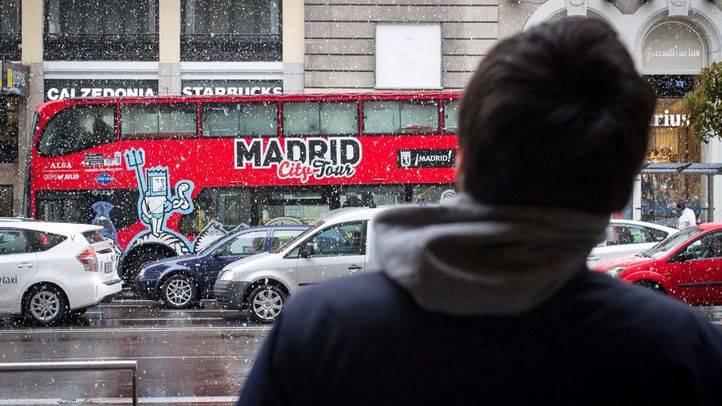 Blanca primavera en Madrid