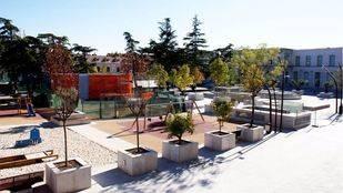 Plaza de España de San Fernando de Henares. (Archivo)