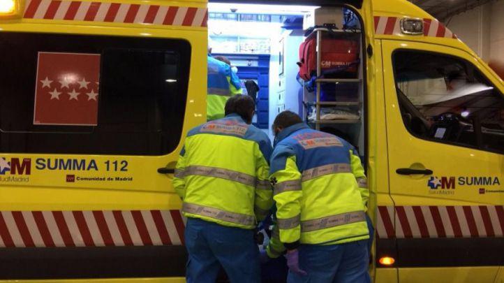 Herido muy grave un trabajador al ser arrollado por un camión