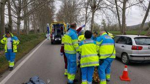 El atropello ha tenido lugar en la carretera que une Aranjuez con Colmenar de Oreja