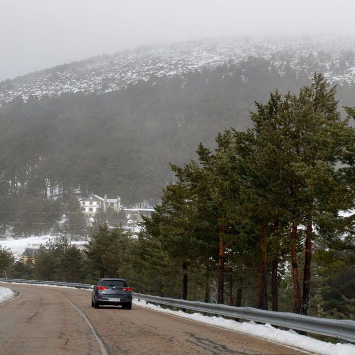 Alerta por nevadas en la Sierra hasta el mediodía
