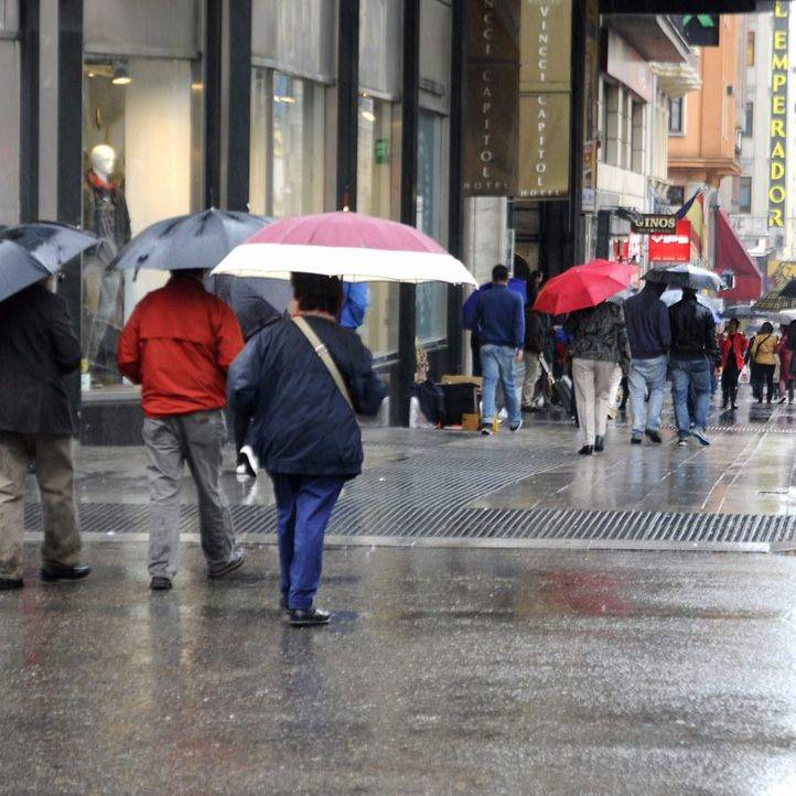 El temporal de frío se despide con lluvias este lunes