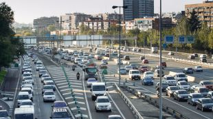 Caos circulatorio por varias incidencias de tráfico