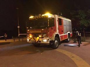 Extinguido un incendio en la cocina de una pizzería de Getafe