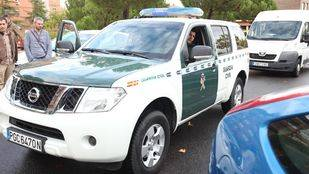 Coche de la Guardia Civil. (Archivo)