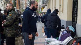 La Policía vuelve a desalojar a los okupas de Hogar Social Madrid de un palacete de Veláquez