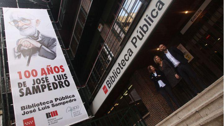 Chamberí homenajea a José Luis Sampedro bautizando una biblioteca con su nombre