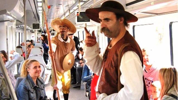 Tren de Cervantes. (Archivo)
