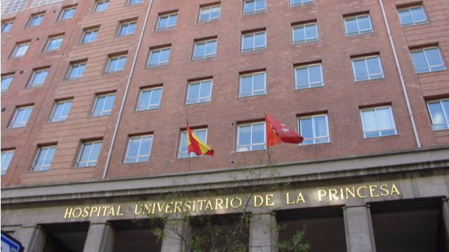 Hospital de La Princesa. (Archivo)