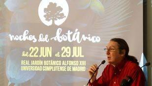 Presentación de la II edición del ciclo musical Noches del Botánico. Real Jardín Botánico Alfonso XIII de la Universidad Complutense de Madrid.