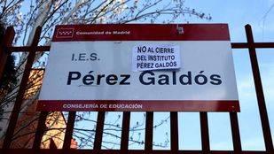 El Ayuntamiento insta a la Comunidad a paralizar el cierre del Pérez Galdós