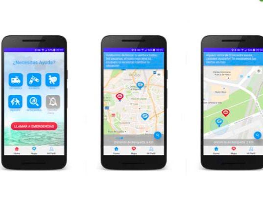 Nace una app para hacer frente a situaciones de emergencia de manera colectiva
