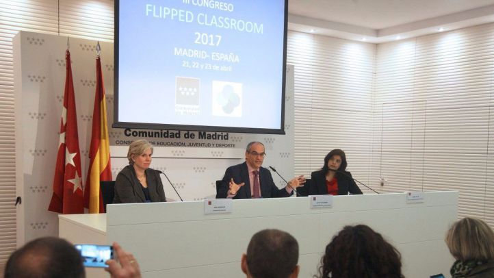 Presentación del congreso sobre 'Flipped Classroom'.