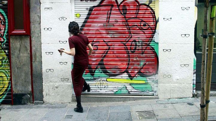 Un centenar de artistas participan en el segundo maratón de arte urbano en Malasaña