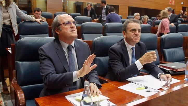 Ángel Gabilondo portavoz del grupo parlamentario de PSOE en la Asamblea de Madrid