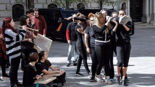 Los trabajadores de las escuelas municipales de música y danza amenazan con una huelga indefinida