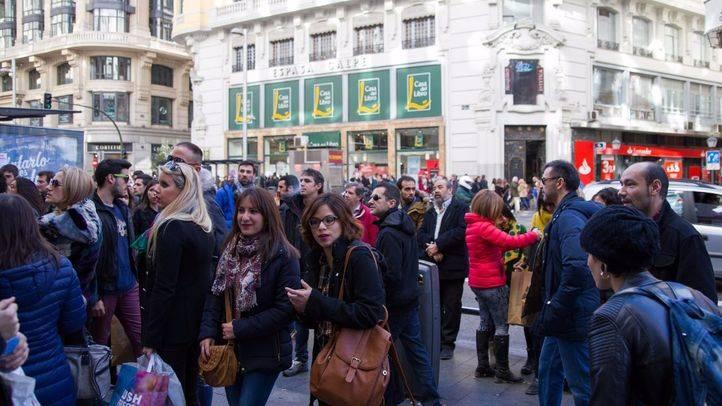 La economía madrileña creció un 3'7 % en 2016