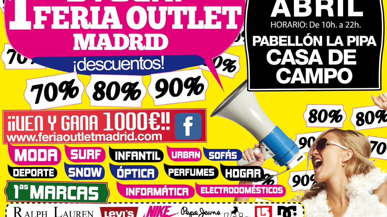 Descuentos de hasta el 90 en stock feria outlet madrid - Gancedo outlet madrid ...