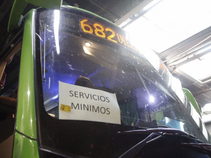 Desconvocada la huelga en los autobuses del noroeste para la próxima semana