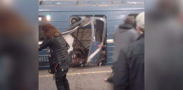Una explosión en el metro de San Petersburgo deja al menos 11 fallecidos