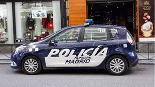 Coche de Policía Municipal.