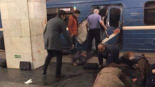 Identificado el autor de la explosión en el metro de San Petersburgo como un ciudadano kirguís