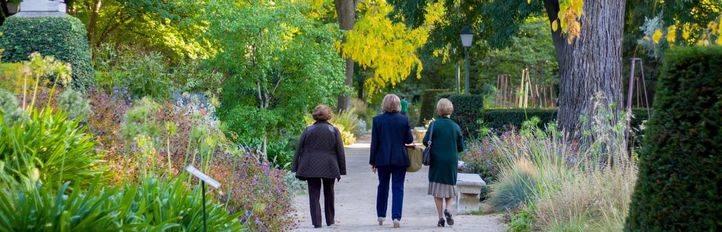 Libros y plantas se dan la mano en en Jardín Botánico