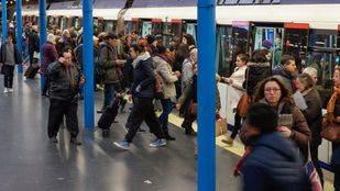 Los maquinistas de Metro de Madrid convocan una nueva huelga los lunes por la mañana