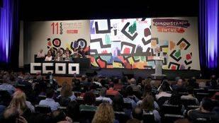 Cristina Cifuentes apoya a los candidatos a la secretaría general de CCOO en Madrid