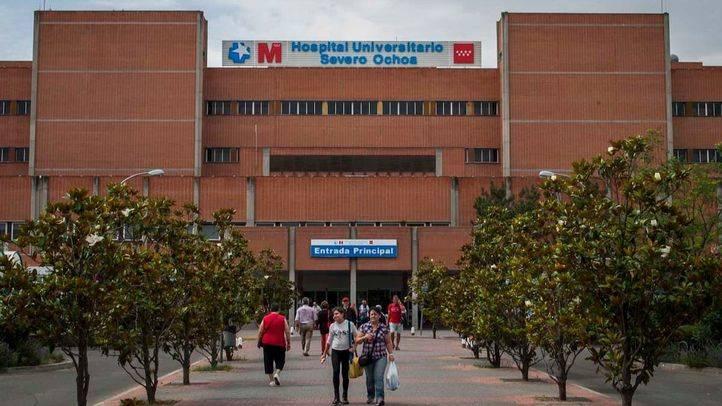 Hospital Universitario Severo Ochoa de Leganés, en una foto de archivo.