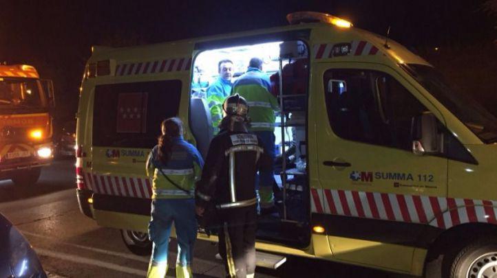 Un incendio en Móstoles deja 12 intoxicados por humo
