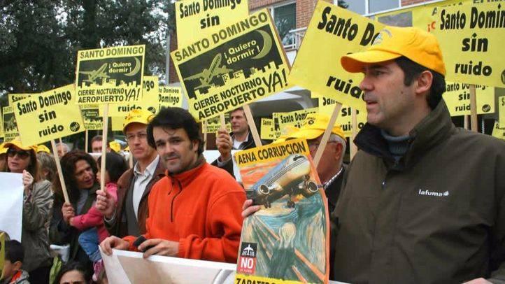 Los vuelos de Barajas sobre la urbanización Santo Domingo no se suspenderán