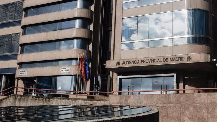 Edificio de la Audiencia Provincial de Madrid en la calle Santiago de Compostela número 96.