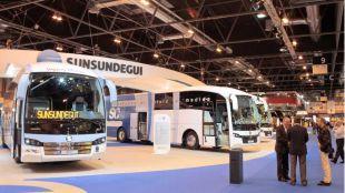Feria Internacional del Autobús y del Autocar en Ifema.