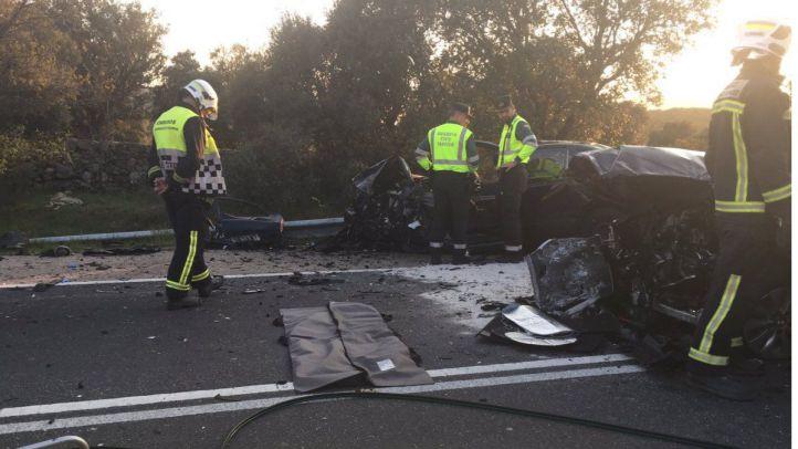 Muere una mujer de 67 años en un accidente de tráfico en El Boalo