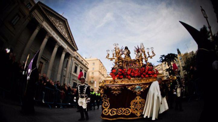 Procesión de Jesús de Medinaceli en Semana Santa (archivo).