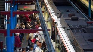 Metro se enfrenta a otro lunes de paros por el conflicto laboral con los maquinistas