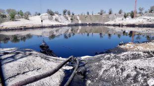 La laguna de Arganda tiene 24.800 toneladas menos de aceite