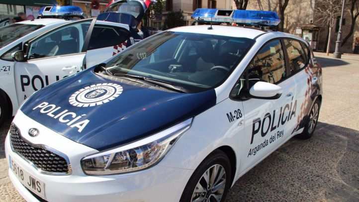 Coche de la Policía Local de Arganda del Rey