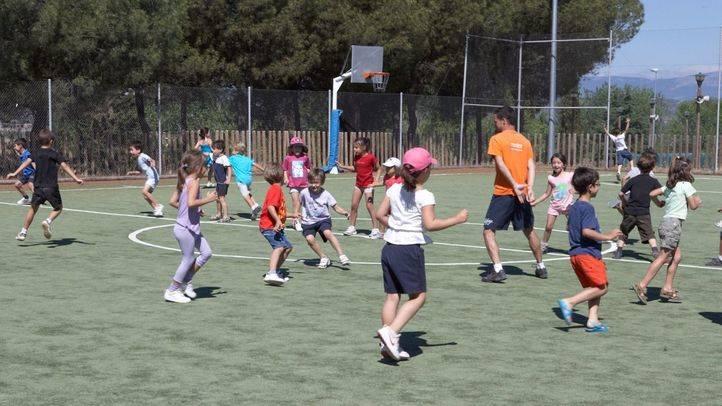 La Comunidad incrementa en un 45% las plazas para campamentos deportivos de verano