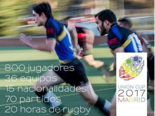 Más de 30 equipos de rugby LGTB participarán en la Union Cup