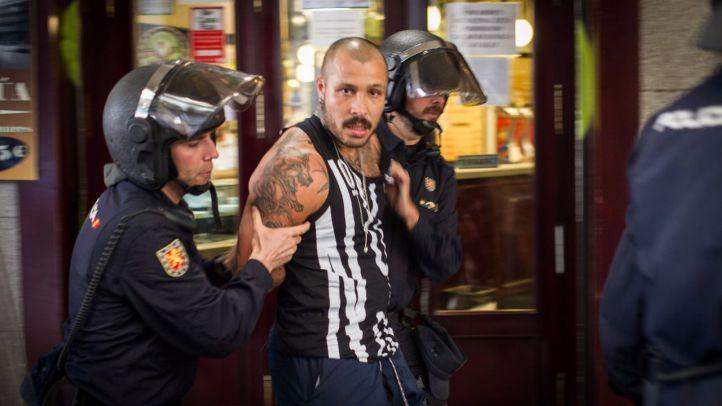 Los hinchas del Leicester detenidos por disturbios en la Plaza Mayor, a prisión