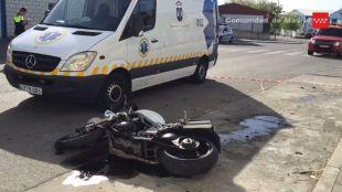 Muere un motorista de 30 años en Valdemoro
