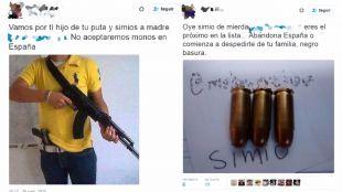 Detenidos tres tuiteros madrileños por subastar como pieza de caza a un activista contra el racismo
