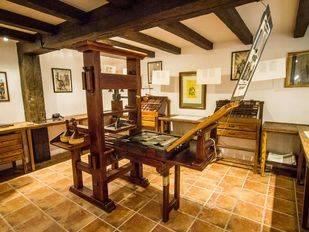 La imprenta de El Quijote, en el centro de Madrid