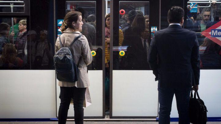 Los paros parciales del colectivo de maquinistas del metro de Madrid comenzaron el pasado lunes.